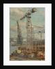 Belfast cranes by Stephen Bone