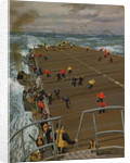 Clear Flight Deck: On board an aircraft carrier by Stephen Bone