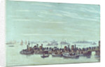 Liberty boats at Sheerness by Charles Cundall