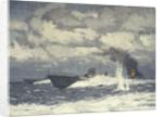 Motor torpedo boats by Norman Wilkinson