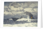 Motor torpedo boats by Norman Wilkinson