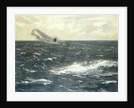 Enemy submarine surrendering to a Hudson, 20 August 1941 by Norman Wilkinson