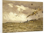 Air attack on the 'Scharnhorst and Gneisenau', 11-12 February 1942 by Norman Wilkinson