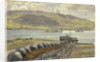 Campbeltown Loch boom nets and floats by Stephen Bone