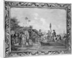 Landing of Captain Cook at Middleburg, Friendly Islands by William Hodges