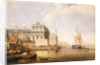 View of Greenwich Hospital from the north bank of the Thames, 1835 by George Chambers