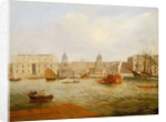 Shipping on the Thames by Greenwich Hospital, circa 1835 by unknown
