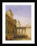 King William Quadrangle, Greenwich Hospital by James Holland