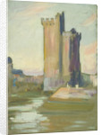 A fortified tower by John Everett