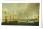 Launch of HMS 'Alexander' at Deptford in 1778 by John Cleveley