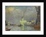 London docks by John Everett