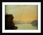 View in Dusky Bay with a Maori canoe by William Hodges