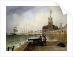Semaphore at Portsmouth by Edward William Cooke