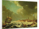 View of Sheerness by British School