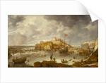 The port of Archangel by Bonaventura Peeters the Elder