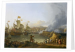 The Battle of Vigo Bay, 12 October 1702 by Ludolf Bakhuizen