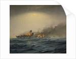 Sinking of the 'Scharnhorst', 26 December 1943 by Charles E. Turner