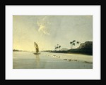 View of part of the Island of Ulietea [Raiatea] by William Hodges