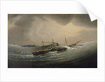 The 'Great Western' riding a tidal wave, 11 December 1844 by Joseph Walter
