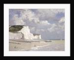 Chalk cliffs at Rottingdean by Norman Wilkinson