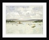 Poole harbour, Dorset by Norman Wilkinson