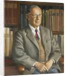 Dr Roger Charles Anderson (1883-1976), naval historian by Bernard Hailstone