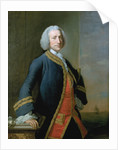 Lord George Anson (1697-1762) by Thomas Hudson