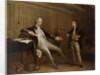 Captain John Bentinck, 1737-1775, and his son, William Bentinck, 1764-1813 by Mason Chamberlin
