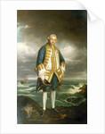 Admiral Edward Boscawen (1711-1761) by Joshua Reynolds