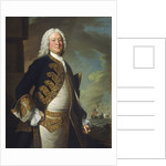 Admiral John Byng (1704-1757) by Thomas Hudson