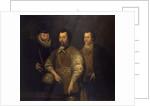 Thomas Cavendish, Sir Francis Drake and Sir John Hawkins by unknown
