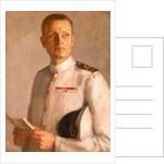 Rear-Admiral M. C. Morgan-Giles (b. 1914) by Anthony Devas