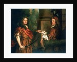 Sir Frescheville Holles and Sir Robert Holmes (1641-1672) by Peter Lely