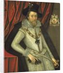James I (1566-1625) by John de Critz