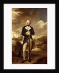 Rear-Admiral Richard Kempenfelt (1718-1782) by Tilly Kettle