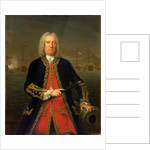 Admiral Thomas Mathews (1676-1751) by Claude Arnulphy