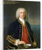 Captain Henry Osborn (1697-1771) by Claude Arnulphy