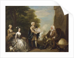 Woodes Rogers and his family by William Hogarth
