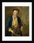 A merchant captain with Elton's quadrant by John Vanderbank