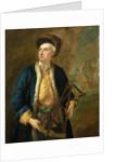 A merchant captain with Elton's quadrant by John Vanderbank