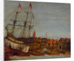 Launch of HMY 'Augusta', Deptford 1771 by Frederick Augustus