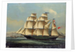 The barque 'Geelong' by Chinese School