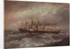 The steamship 'Great Eastern' (1858) laying the first successful Atlantic cable by Henry Clifford