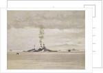 HMS 'Malaya' by Norman Wilkinson