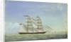 The brig 'Martha Edmonds' by W. Pearn