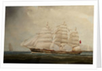 The ship Mermerus by 19th Century British School