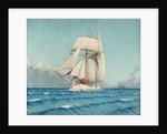 The topsail schooner 'Notre Dame de Bonne Nouvelle' by John Everett