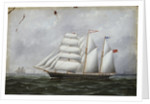 The schooner 'Ocean Swell' by W. Pearn