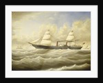 The steamship 'Persia' in a breeze by D. Lyle