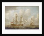 The East Indiaman 'Princess Royal' by John Cleveley